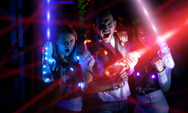 Lasergame groep 1