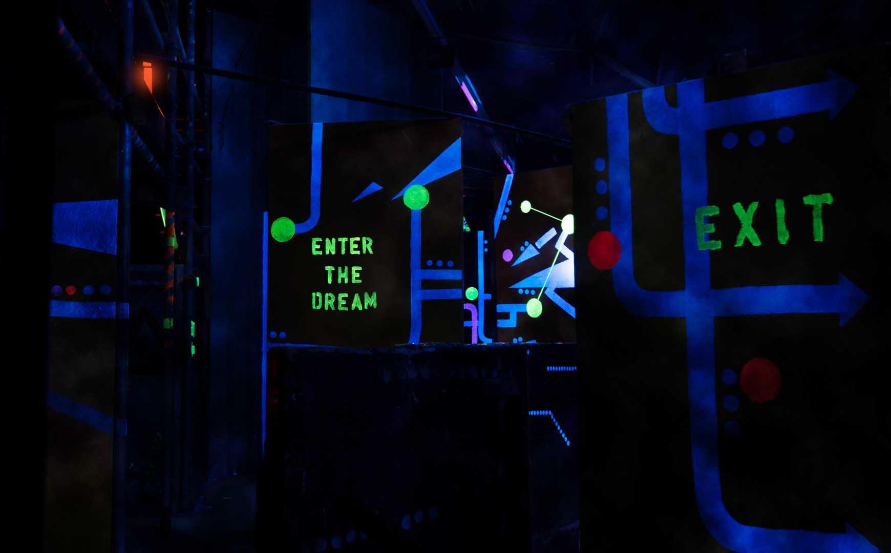 Laserquest arena 12