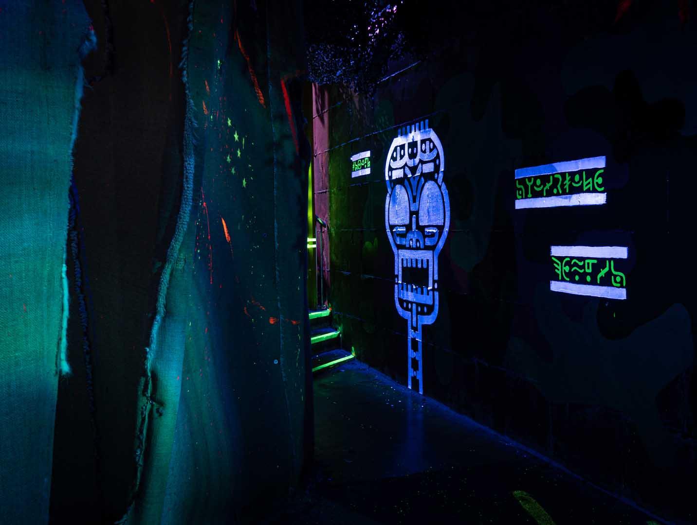 Laserquest arena 11