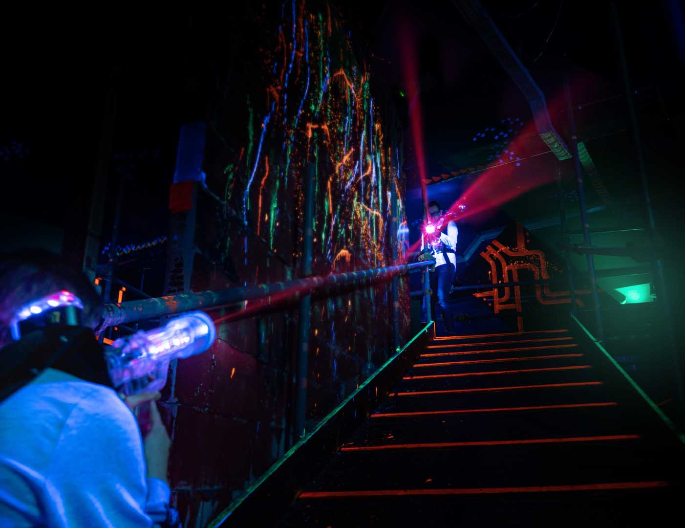 Laserquest arena 10