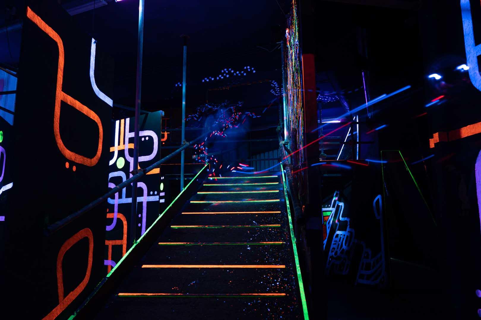 Laserquest arena 6