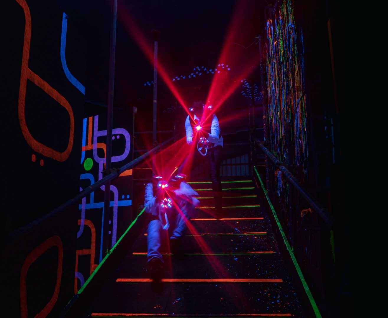Laserquest arena 5