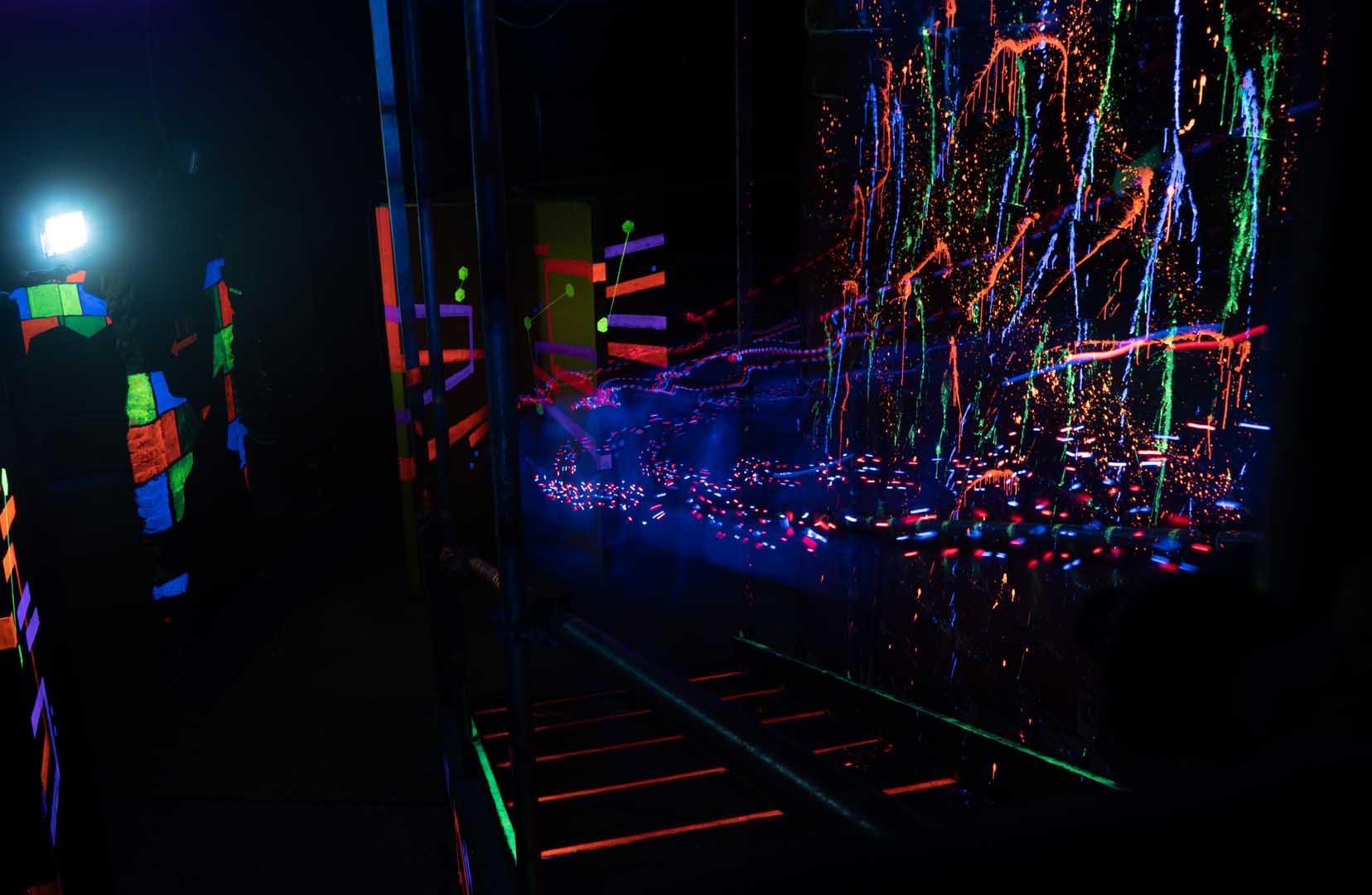 Laserquest arena 1